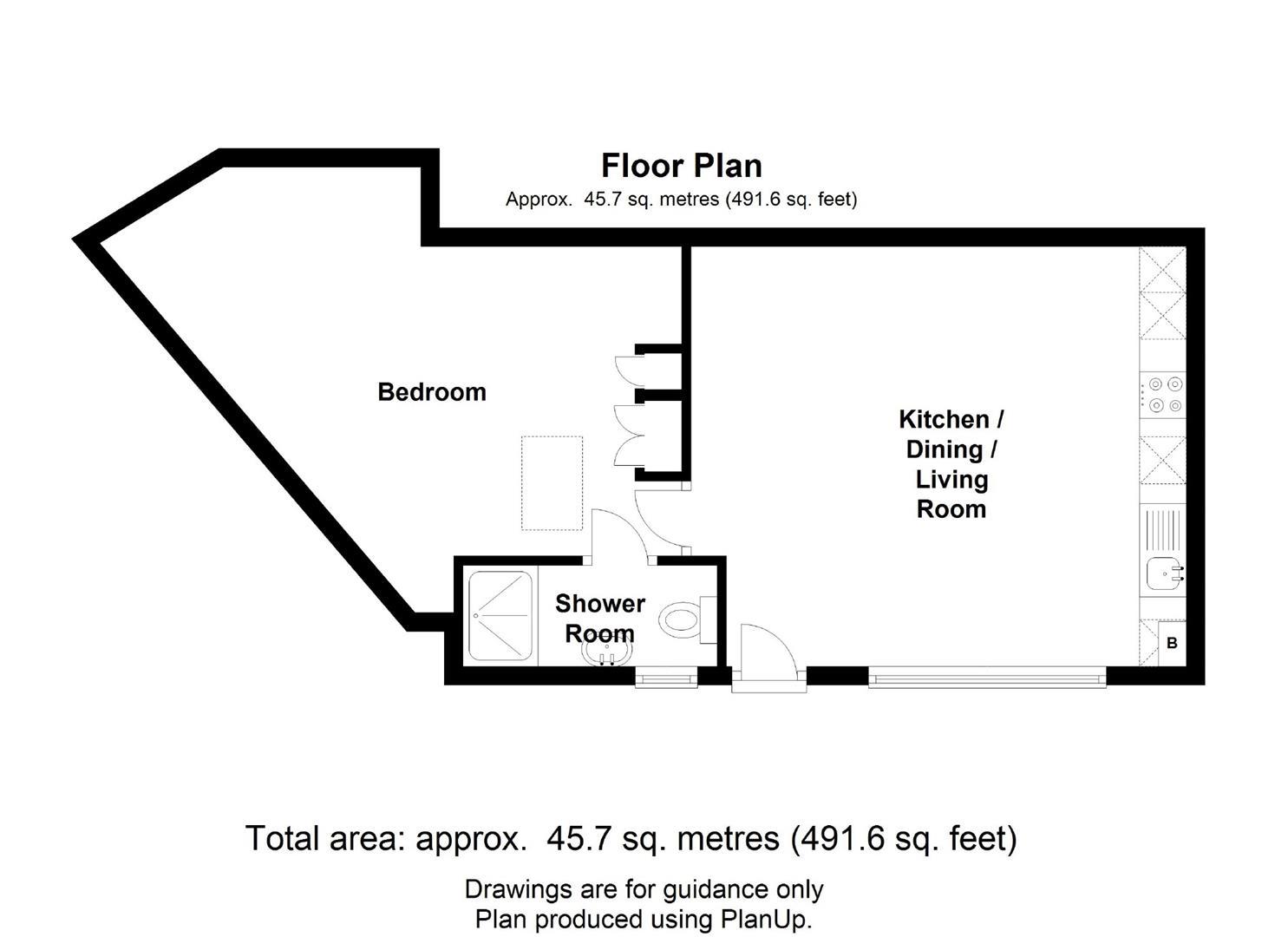 Trafalgar Street, Cambridge, Cambridge floorplan